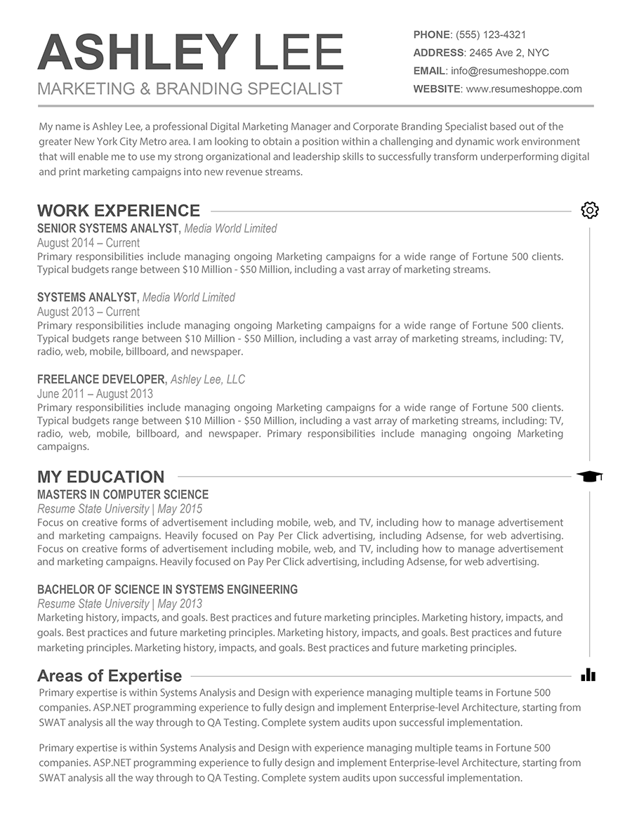 cool resume templates for mac the resume creative resume for mac and word 20967